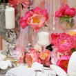 Table set for wedding reception — Stock Photo #59763545