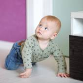 Little baby at home — Stock Photo