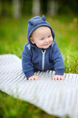 Happy little baby boy  — Stock Photo