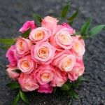 Beautiful wedding flowers bouquet — Stock Photo #68621921