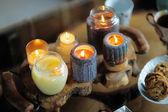 красивые пылают свечи — Стоковое фото