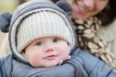 Portrait of sweet little baby — Stock Photo