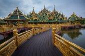 Chrám v thajsku — Stock fotografie