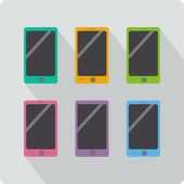 MobileSet — Stock Vector