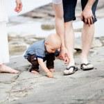 Family on the beach — Stock Photo #52584559