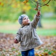 Little girl having fun in park — Stock Photo #57977983