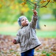 Little girl having fun in park — Stock Photo #57977989