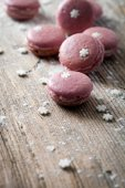 Christmas macaroons, close-up — Stock Photo