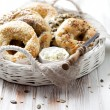 Bagels with sesame — Stock Photo #64956605