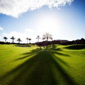 Golf course, Spain — Stock Photo
