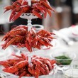 Party with lots of crayfish — Stock Photo #73847069