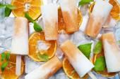 Homemade frozen yogurt — Stock Photo