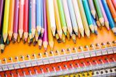 Schoolsupplies — Stockfoto