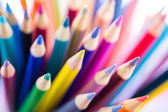 Colorful pencils, School supplies — Stock Photo