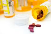 рецепта таблетки — Стоковое фото