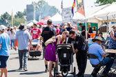 Barbecue festival — Stock Photo