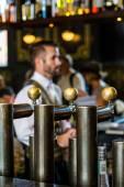 Barman at  historical Union Station — Stock Photo