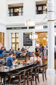 Contemporary interiors of Union Station — Stock Photo