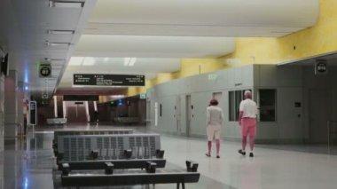 Underground interior — Stock Video