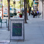Main street — Stock Photo #52730207