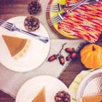 Pumpkin pie — Stock Photo #52762297
