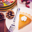 Pumpkin pie — Stock Photo #52762305