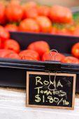 Red tomatoes — Stockfoto
