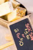Fresh homemade soap — Stock Photo