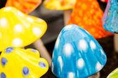 Keramik pilze — Stockfoto