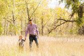 Familia. Padre y niño — Foto de Stock