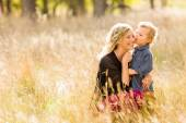 Family. Mother and child — Stock Photo
