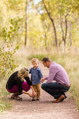 Family. Parents and child — Stock Photo