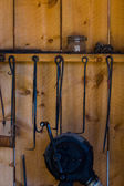 Old barn, blacksmith shop — Stock Photo