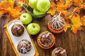Karamelová jablka — Stock fotografie