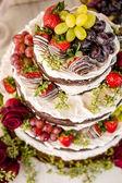 Svatební dort — Stock fotografie