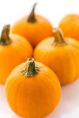 Organic orange Pumpkins — Stock Photo