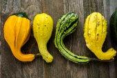 Organic pumpkins — Stock Photo
