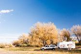Camping en otoño Colorado. — Foto de Stock