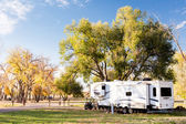 Camping in Autumn Colorado. — Stock Photo