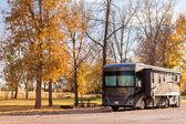 Camping en automne Colorado. — Photo