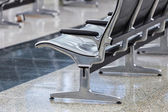 Empty chairs at Airport — Stock Photo
