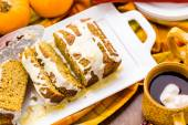 Tasty Pumpkin bread — Stock Photo