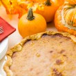 Homemade pumpkin pie — Stock Photo #57576609