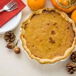Homemade pumpkin pie — Stock Photo #57576683