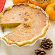 Homemade pumpkin pie — Stock Photo #57576903