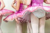Kids dancing at stage, performance — Stock Photo