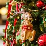 Decorated Christmas tree — Stock Photo #58834379