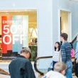 Typical North American mall on Black Friday shopping — Stock Photo #59193933