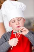 Little boy Baking — Foto de Stock