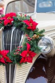 Christmas wreath view — Foto de Stock